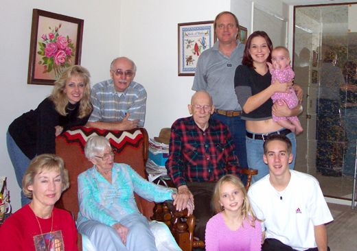 Five Generations, Christmas 2001